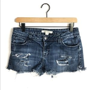 Forever 21 Distressed Cutoff Jean Shorts 29